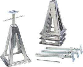 FIAMMA Aluminium schragen set van 4 (laadvermogen 1000 kg)