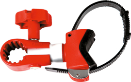 FIAMMA spacer Bike Block Pro 1, 12,5 - 17 cm (zilver/rood)