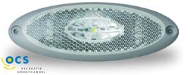 JokonBreedtelamp ovaal met grijs frame