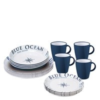 Brunner Stack Box Blue Ocean serviesset (16dlg)