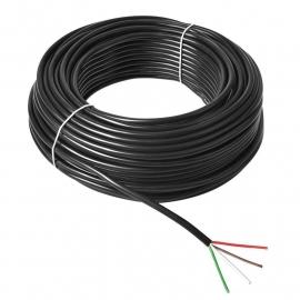 Kabel 4x0,75mm² op rol 50M