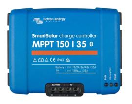 35A, Victron Smart Solar MPPT Solarladeregelaar met Bluetooth 12/24V/48V