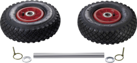 RIJK Ombouwset dubbel steunwiel