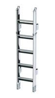 Thule ladder double De Luxe 10 treden opklapbaar