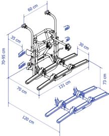 Fietsendrager lift V16 Fietsendrager lift V16 (handmatig)