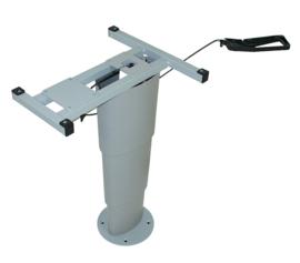standaard Eenkoloms heftafel Primero Comfort HSK (zilvergrijs)