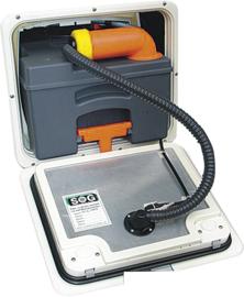 variant toiletventilatiedeur voor Thetford C 250 / C 260 wit