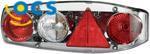 Hella Caraluna II Plus Chroom Driehoek-Reflector links