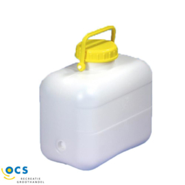 Jerrycan 10 of 16 liter met schroefdop, afm. lxbxh 28x17x 28cm. 8021.82.10 10