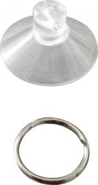 Zuignap met ring voor thermische binnenmatten