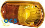 HellaBreedtelicht Opbouw Rood/Oranje geel glas