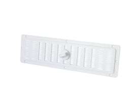 ventilatieschuif kunststof wit 1 stuk (25 x 7 cm)