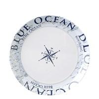 Brunner Blue ocean bord Ø 25cm