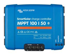 50A, Victron Smart Solar MPPT Solarladeregelaar met Bluetooth 12/24V