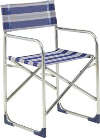 CRESPO aluminium directiestoel met afneembaar zitkussen