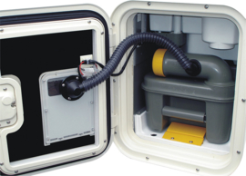 toiletventilatiedeur variant voor Thetford C 2 / C 3 / C 4