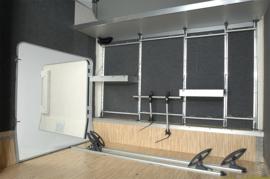 Stellingsysteem voor garages achteraan - uitbreidingsmodule