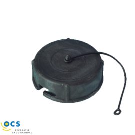 Dop met bajonetsluiting 72 mm zwart