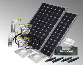 solarset 200watt voor camper/caravan