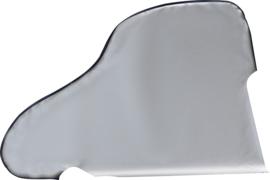 HINDERMANN Beschermkap voor dissel van folie, maat 12 zilver