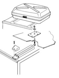 THULE Rack en bruggen naar topkoffer