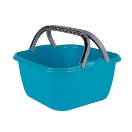 Afwasbak - Vierkant - 35x35x18 cm - 13 Liter - Blauw