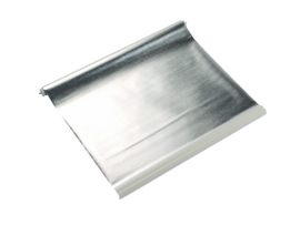 REMIS zonwering rolgordijn REMIsun, creme wit / zilver