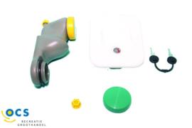 Dop voor watervulreservoir. Kleur groen