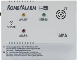 PRO CAR AMS alarmapparaat Kombi Alarm Compact