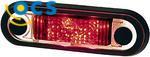 Zijlicht Rechthoek Inbouw LED 500 mm kabel