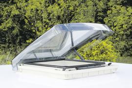 REMIS klapdakluikREMItop Vario II 40 x 40 cm standaard met zwengel