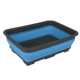 Bo-Camp - Afwasbak - Opvouwbaar - 7 Liter - Blauw