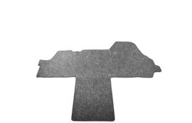 Antraciet naaldvilt tapijt voor Bürstner Aviano (met cabinedeur aan de linkerkant)