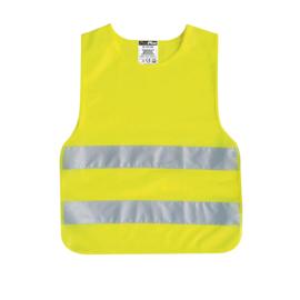 Kinder veiligheidsvest, geel