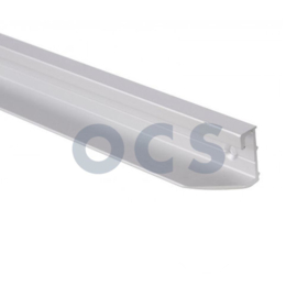 Tafel wandrail. Aluminium 800mm