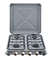 Gimeg kooktoestel 4-pits grijs beveiligd