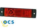 Zijlicht Rechthoek Opbouw LED 500 mm kabel