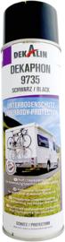 DEKALIN bodembeschermende spray DEKAphon 9735 zwart 0,5 l