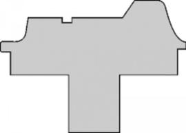 Antraciet naaldvilt tapijt voor LMC Explorer