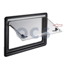 Dometic S4/ S5 Acrylglas 110 x 55 transparant