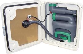 toiletventilatiedeur variant voor Thetford C 400 wit
