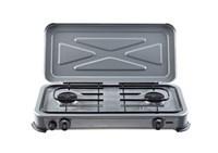 Gimeg kooktoestel 2-pits grijs