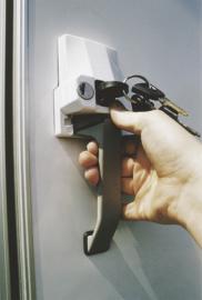 HEOSafe- deurslot , extern slot met handgreep, type POS