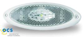 JokonBreedtelamp ovaal met wit frame