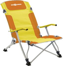 BRUNNER Strandstoel Bula XL geel/oranje