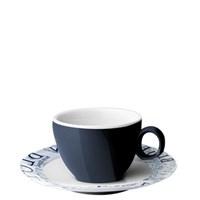 Brunner Blue ocean espresso kop en schotel 10cl