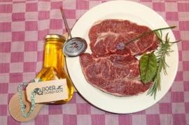 Sucade - vleesplank - olie - vleesthermometer