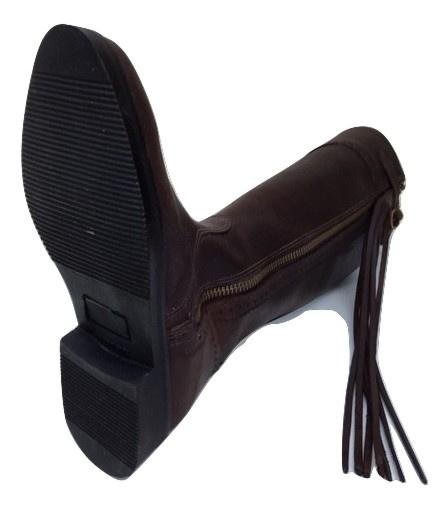 Model Classico in zwart en bruin