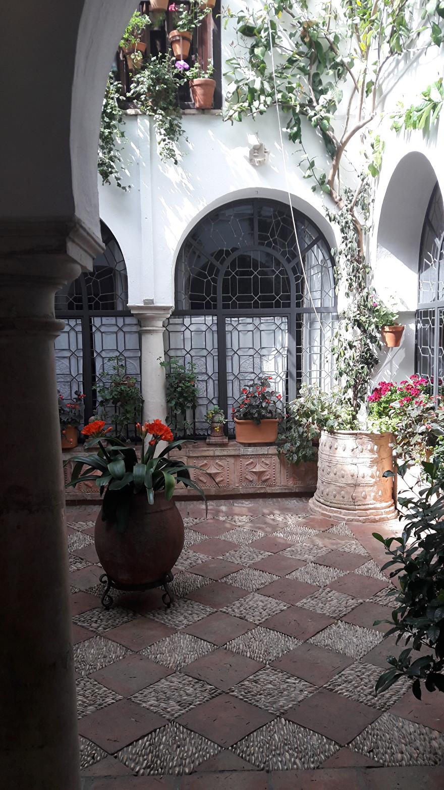 Spaanse patio