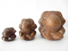 Yogiman - 5-6 cm - hout
